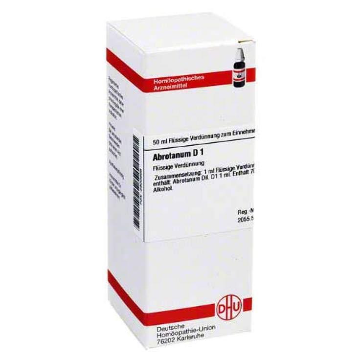 Abrotanum D1 DHU 50ml Dil.