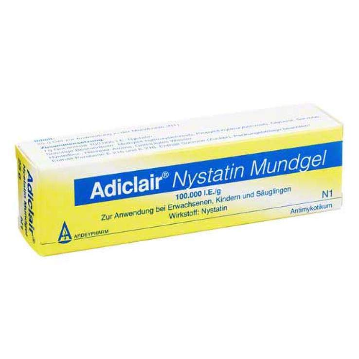 Adiclair® Nystatin Mundgel 25g
