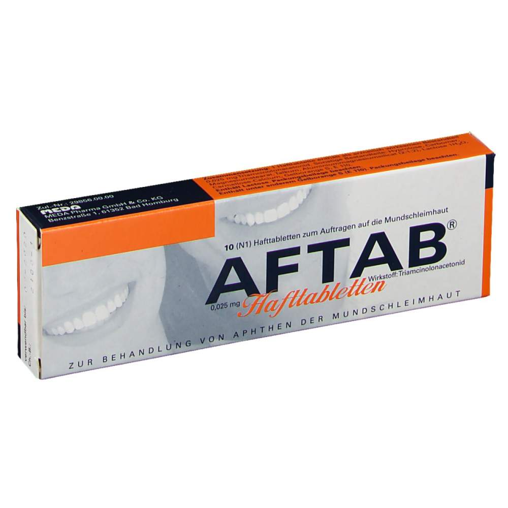 AFTAB® 0,025 mg 10 Hafttabletten