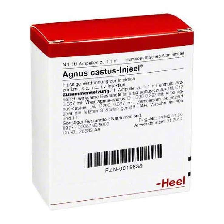 Agnus castus Injeel Amp. 10 St.