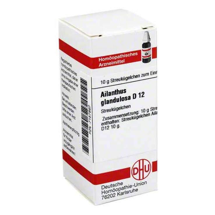 Ailanthus glandulosa D12 DHU Glob. 10 g