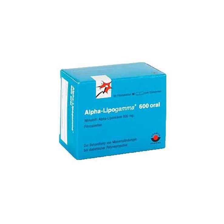 Alpha-Lipogamma® 600 mg 60 Filmtbl.