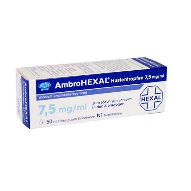 AmbroHEXAL® Hustentropfen 7,5mg/ml 50ml