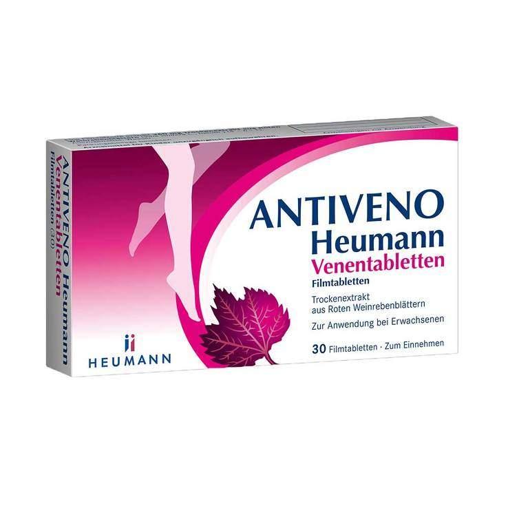 ANTIVENO Heumann® Venentabletten 30 Filmtbl.
