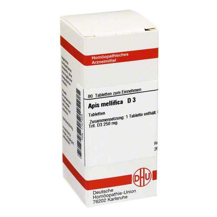 Apis mellifica D3 DHU 80 Tbl.