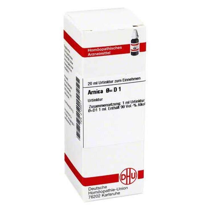 Arnica Urtinktur D1 DHU Dil. 20 ml