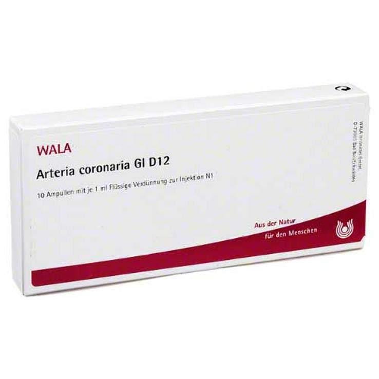 Arteria coronaria Gl D12 Wala 10 x1ml Amp.