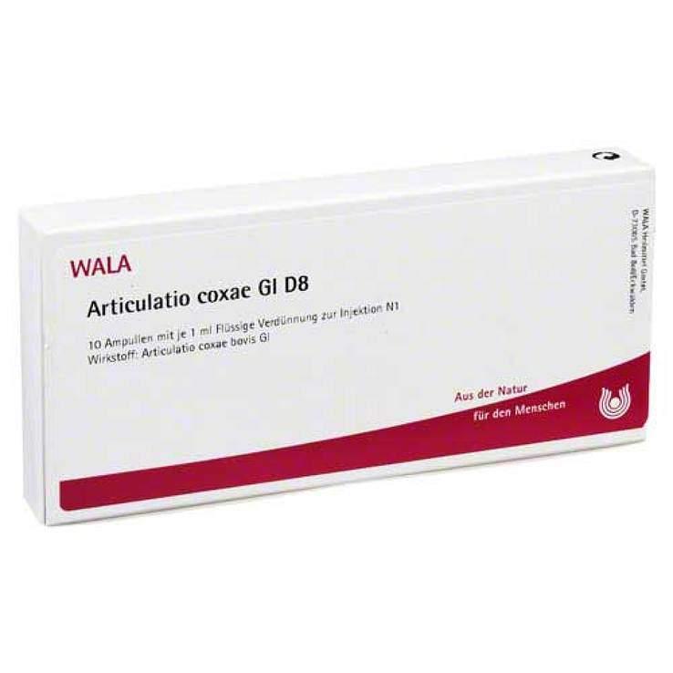 Articulatio Coxae Gl D8 Wala 10x1ml Amp.