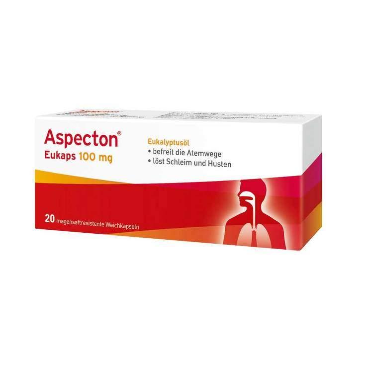 Aspecton® Eukaps 20 msr. Weichkaps. 100 mg