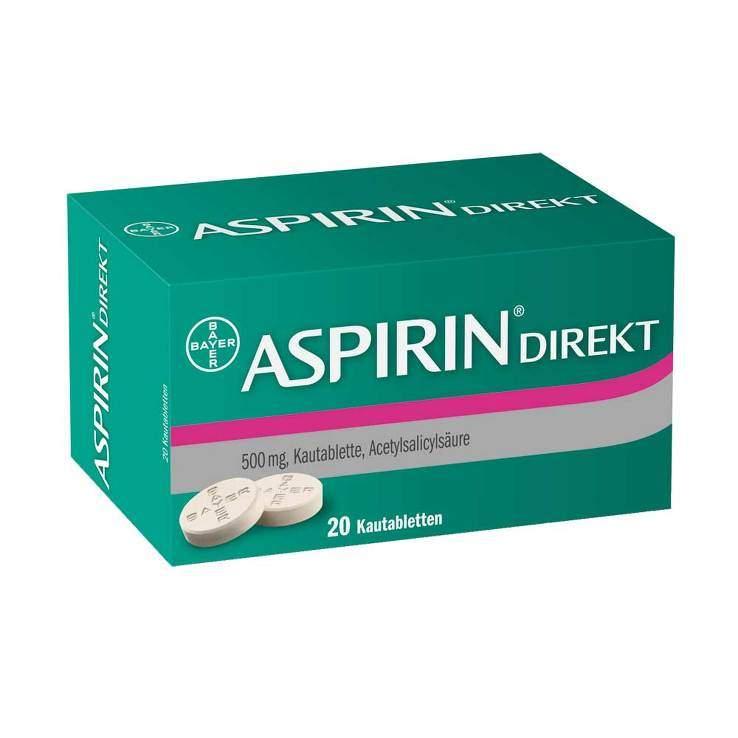 Aspirin® Direkt 20 Kautbl.