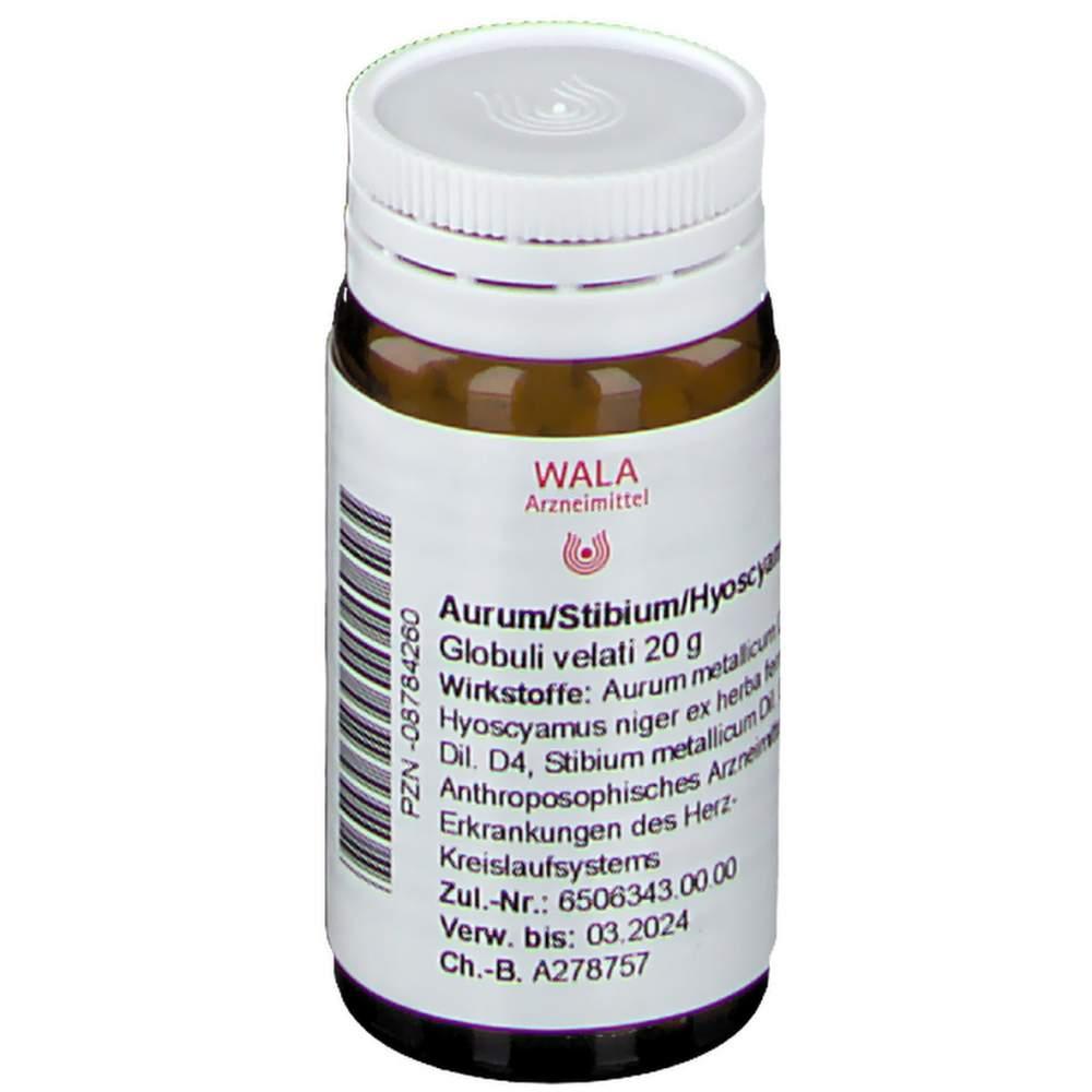 Aurum/Stibium/Hyoscyamus Wala Glob. 20g