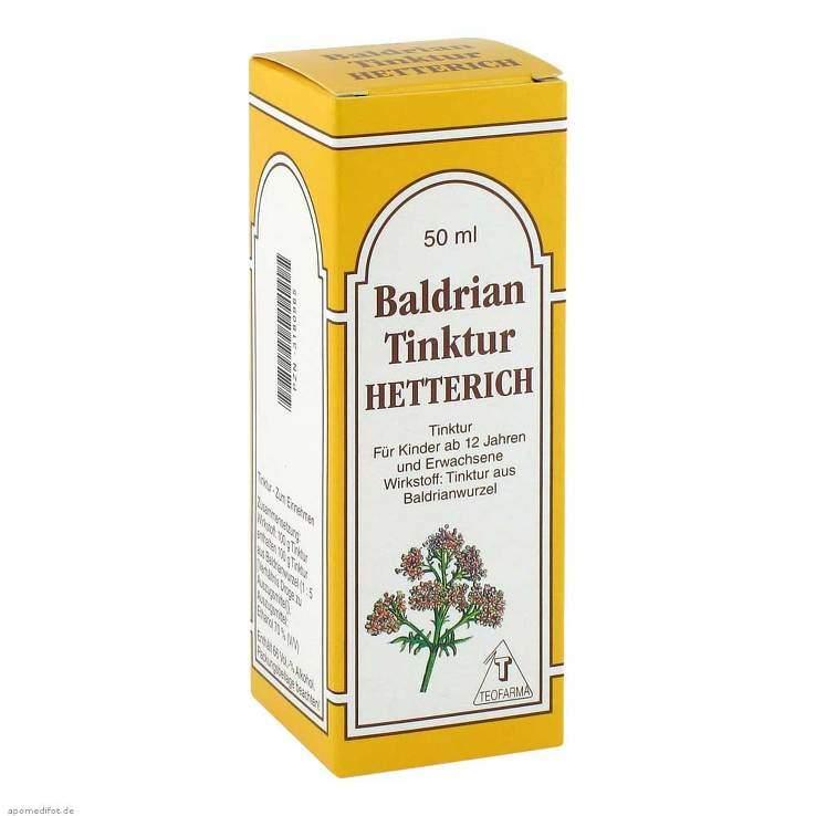 Baldriantinktur Hetterich 50ml