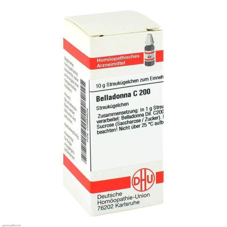 Belladonna C200 DHU Glob. 10 g