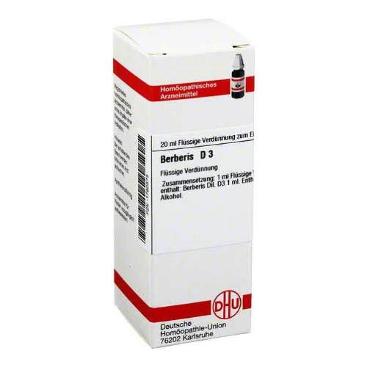 Berberis D3 DHU Dil. 20 ml