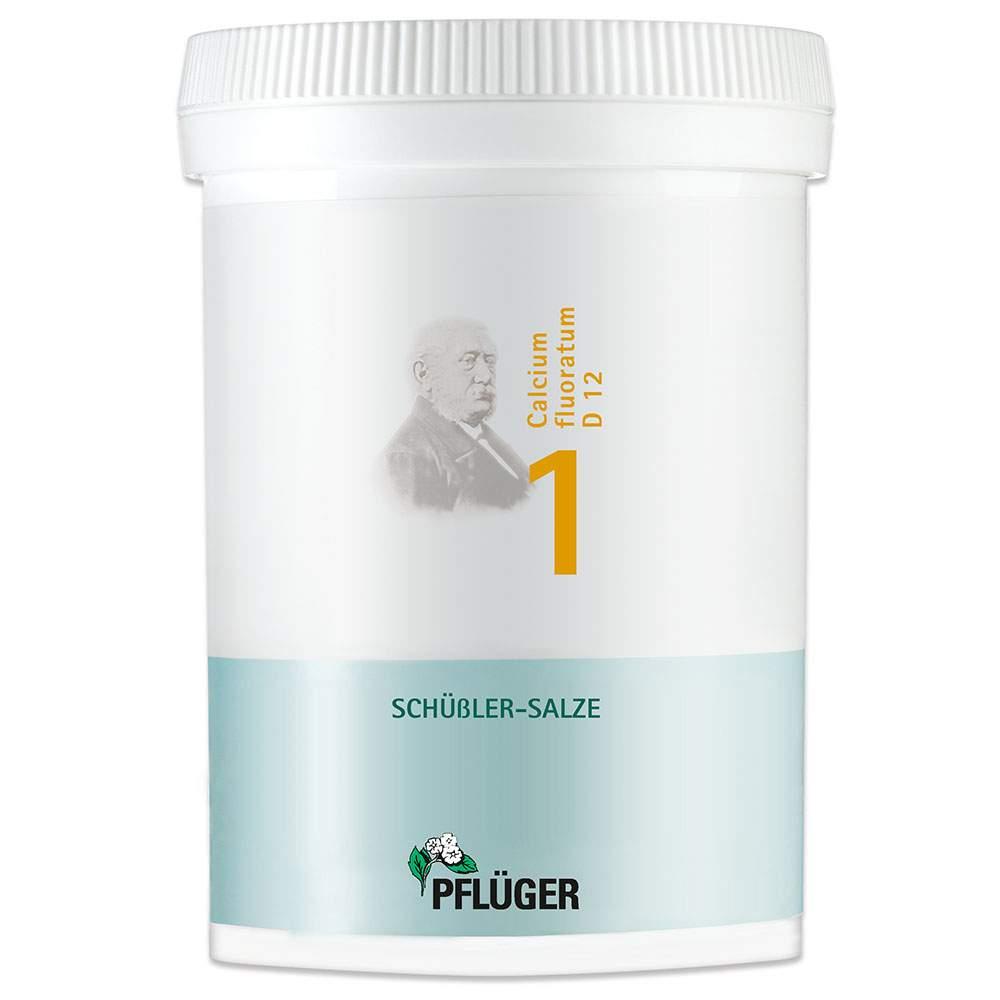 Biochem.1 Calcium fluorat.D12 Pflüger 1000 Tbl.