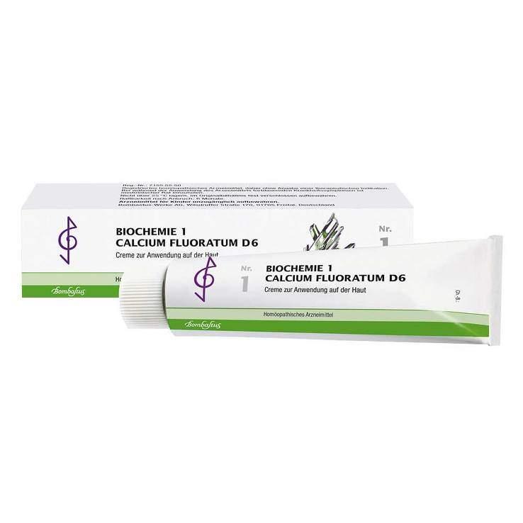 Biochemie 1 Calcium fluoratum Bombastus D6 100ml Creme