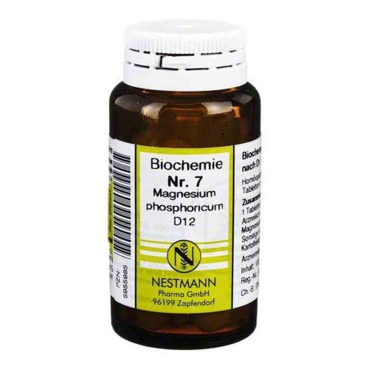 Biochemie 7 Magnes. phos. Nestmann D12 100 Tbl.