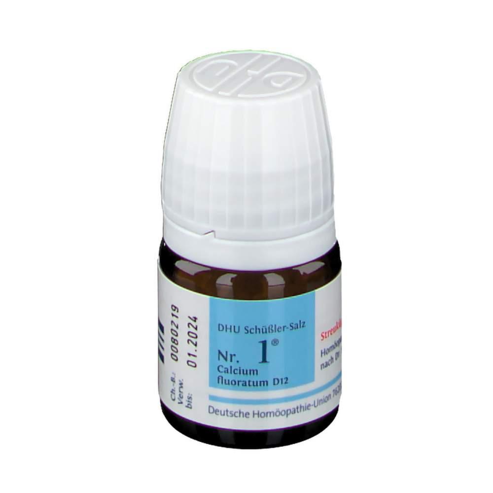 Biochemie DHU 1 Calcium fluoratum D12 Glob. 10 g