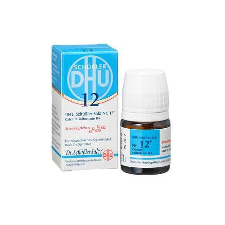 Biochemie DHU 12 Calcium sulfuricum D6 Glob. 10g
