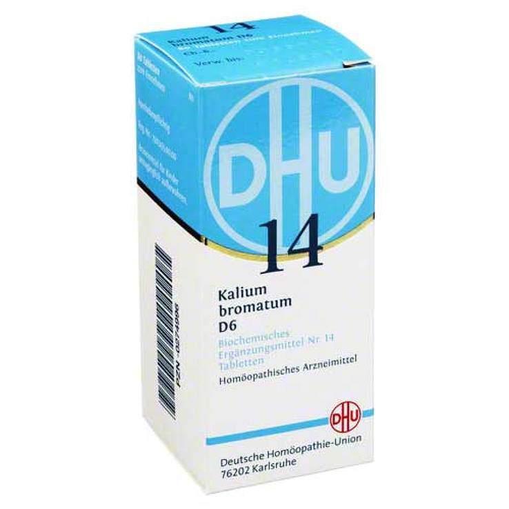 Biochemie DHU 14 Kalium bromatum D6 80 Tbl.