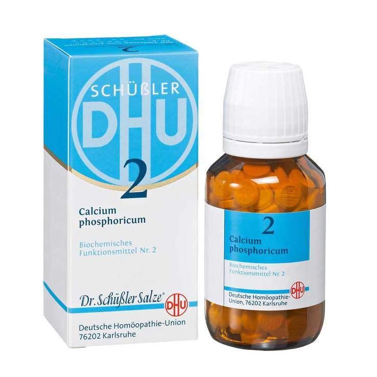 Biochemie DHU 2 Calcium phosphor. D6 80 Tbl.