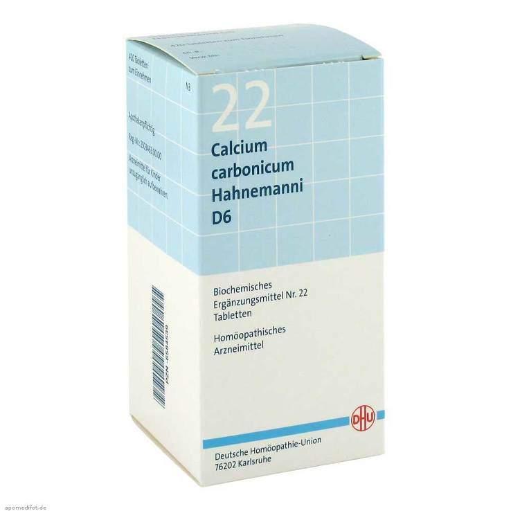 Biochemie DHU 22 Calcium carbonicum D6 420 Tbl.