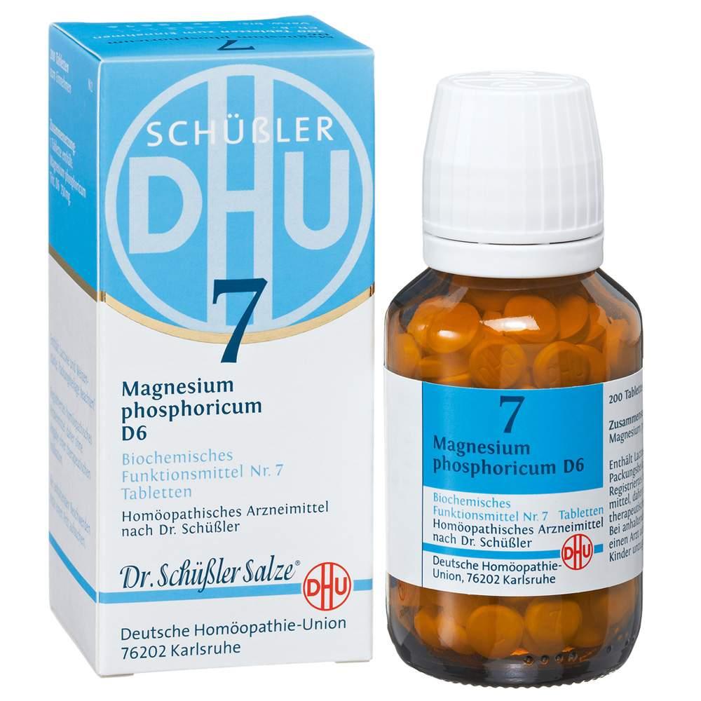 Biochemie DHU 7 Magnesium phosph. D6 200 Tbl.