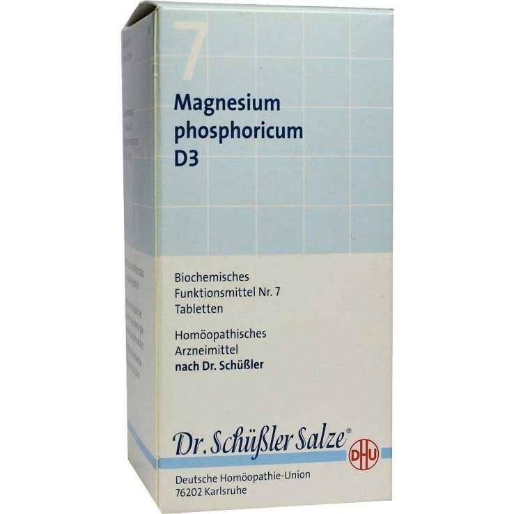 Biochemie DHU 7 Magnesium phosphor. D3 420 Tbl.