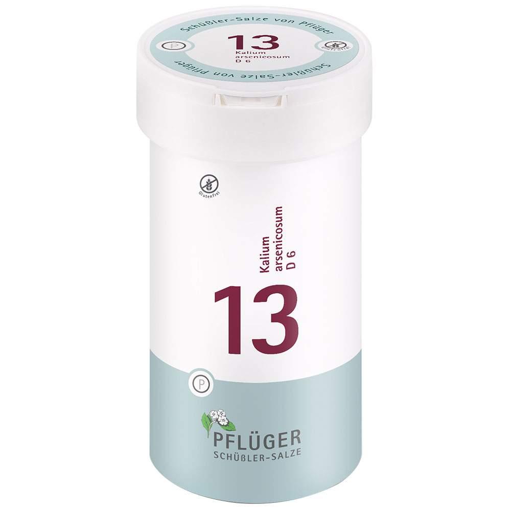 Biochemie Nr.13 Kalium arsenic. D6 Pflüger 400Tbl.
