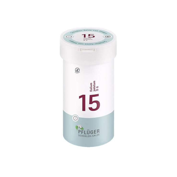 Biochemie Nr.15 Kalium jodatum D6 Pflüger 400 Tbl.