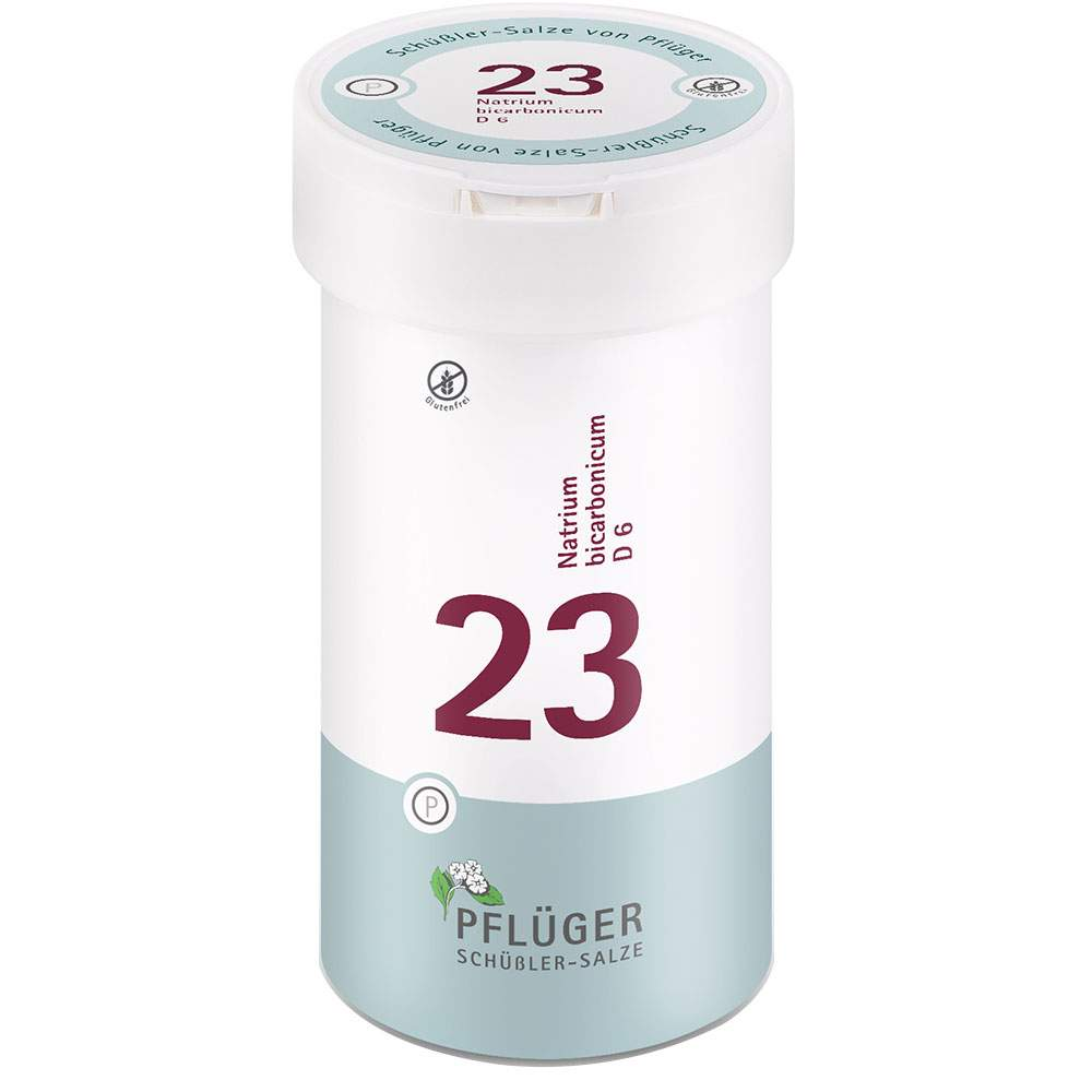 Biochemie Nr.23 Natrium bicarb. D6 Pflüger 400 Tbl.