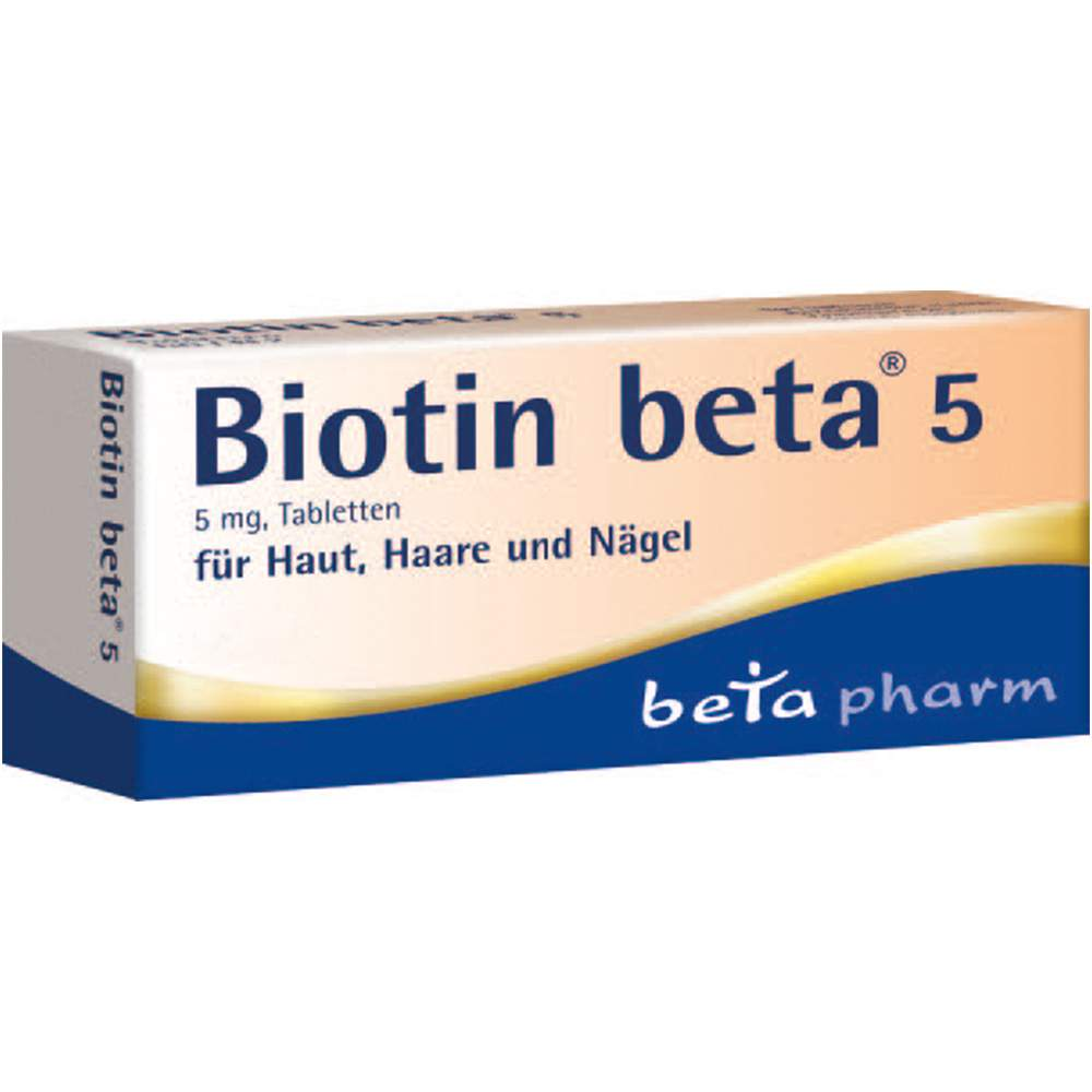 Biotin beta® 5 90 Tbl.