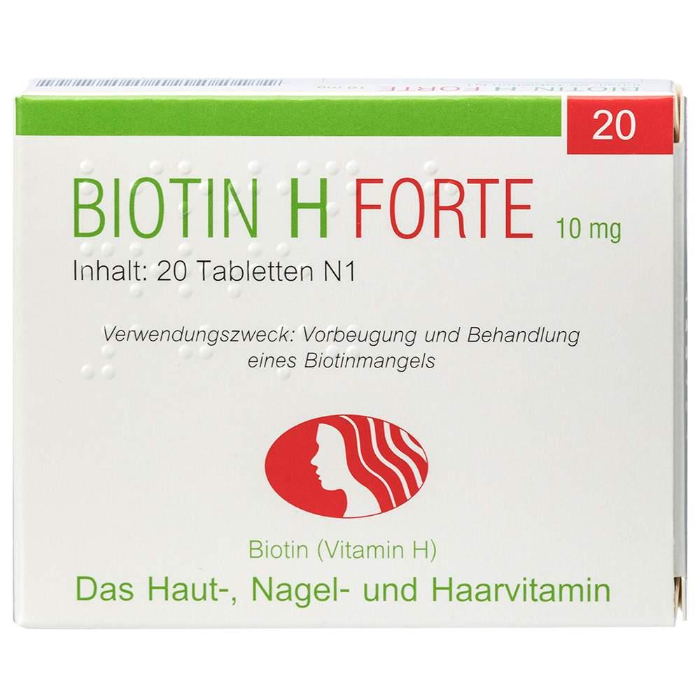 Biotin H forte 20 Tbl.