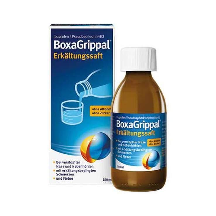 BoxaGrippal® Erkältungssaft 180ml