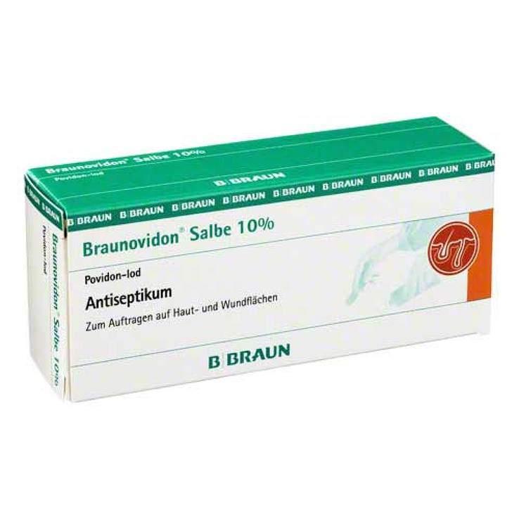 Braunovidon® Salbe 10%, 20 g Tube mit Dispenser