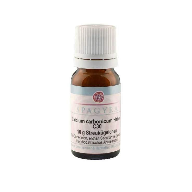 Calcium carbonicum Hahn. C30 Spagyra Globuli 10g