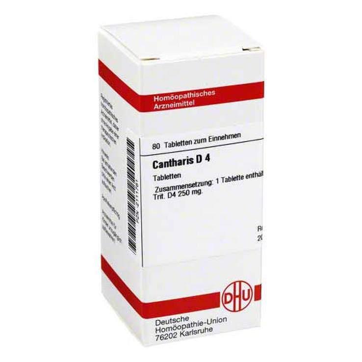 Cantharis D4 DHU 80 Tbl.