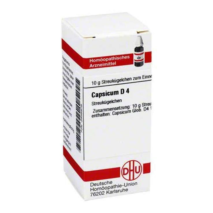 Capsicum D4 DHU Glob. 10 g