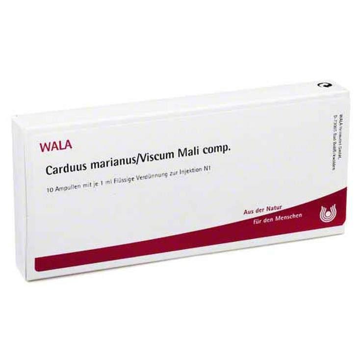 Carduus Marianus/Viscum Mali comp. Wala 10x1ml Amp.