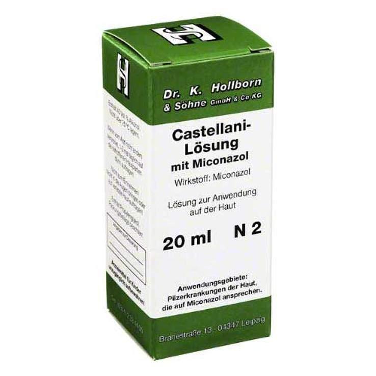 Castellani mit Miconazol 20ml Lsg.