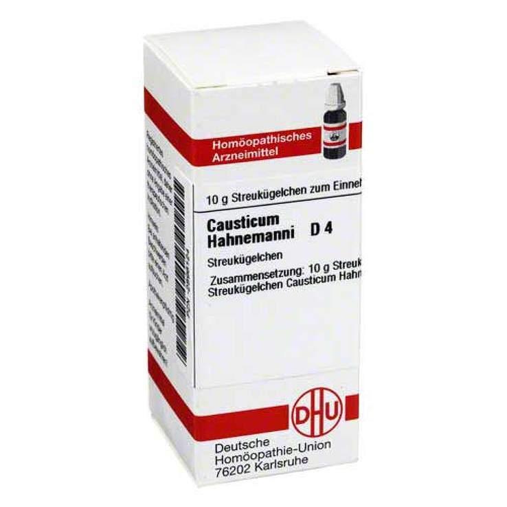 Causticum Hahnemanni D4 DHU Glob. 10 g