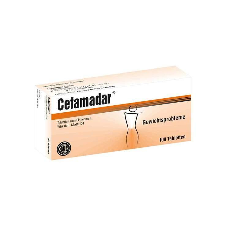 Cefamadar® 100 Tbl.