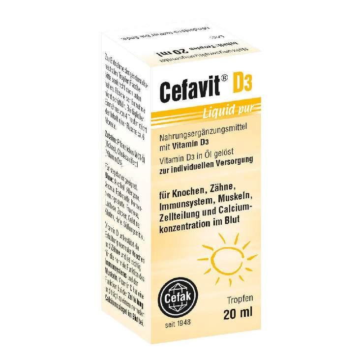 Cefavit® D3 Liquid pur, Tropfen 20ml