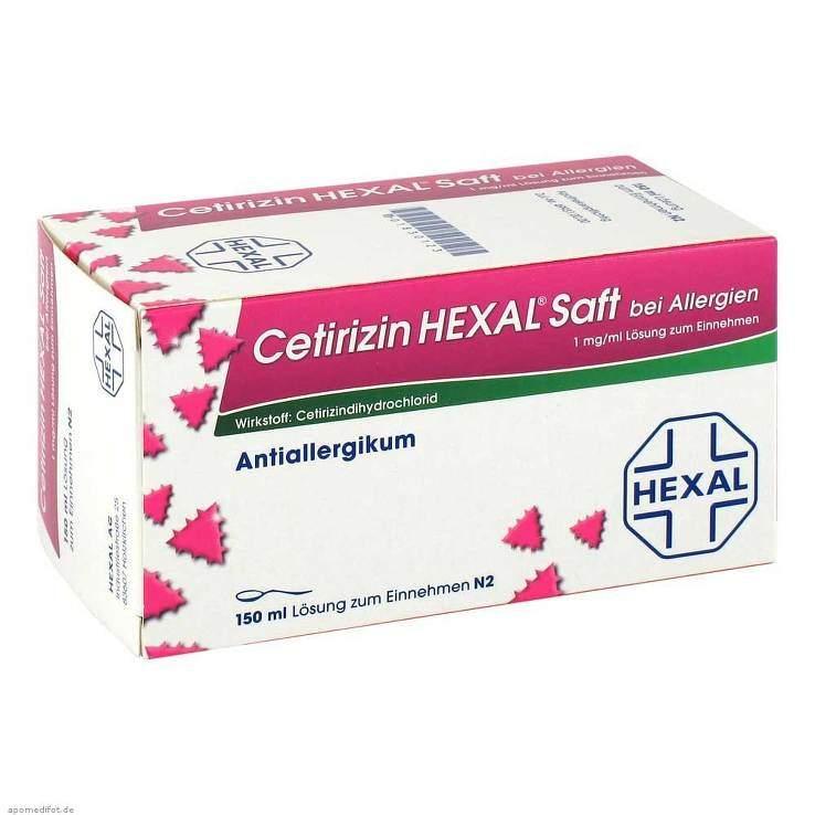 Cetirizin HEXAL® Saft b. Allergien 150ml