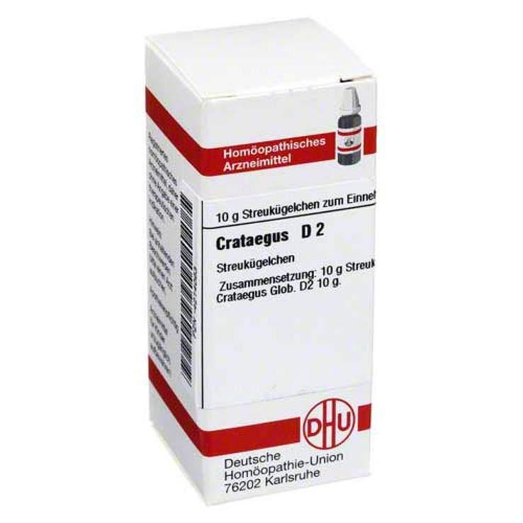 Crataegus D2 DHU Glob. 10 g