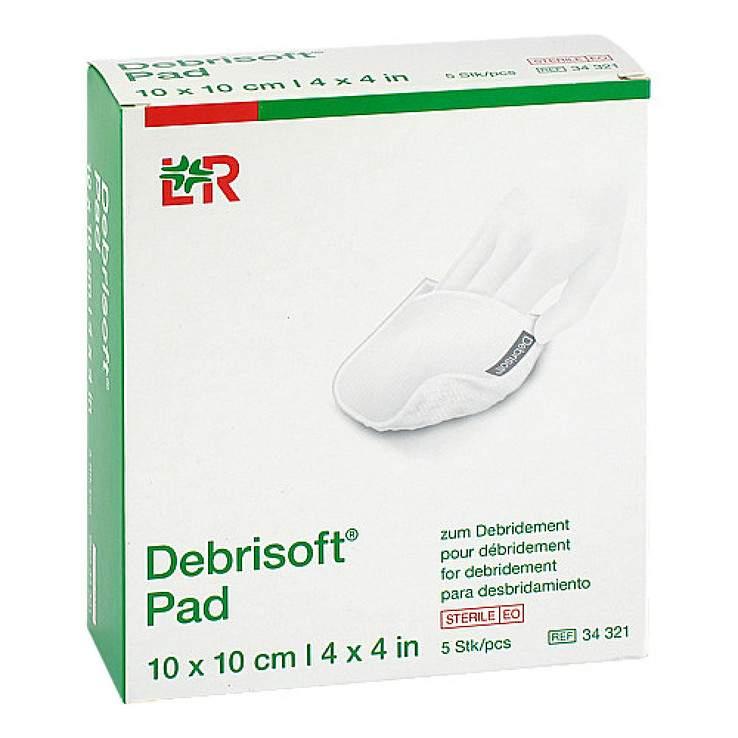 Debrisoft® 5 Verbände steril, einzeln 10x10 cm