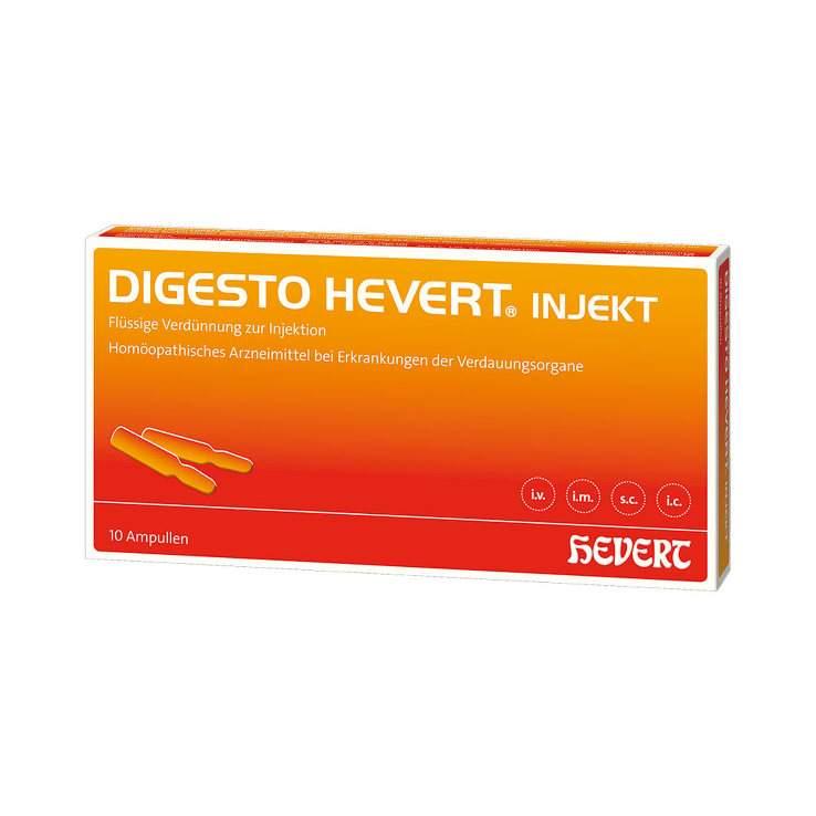 Digesto Hevert injekt 10x2ml Amp.