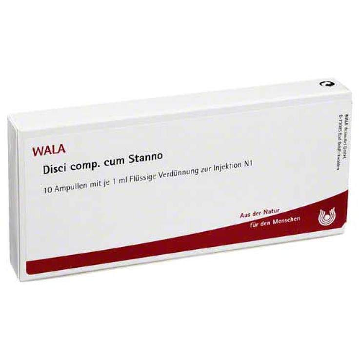 Disci comp. c. Stanno Wala 10 x1ml Amp.