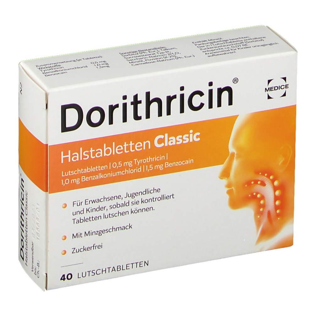 Dorithricin® Halstabletten Classic 40 Lutschtbl.