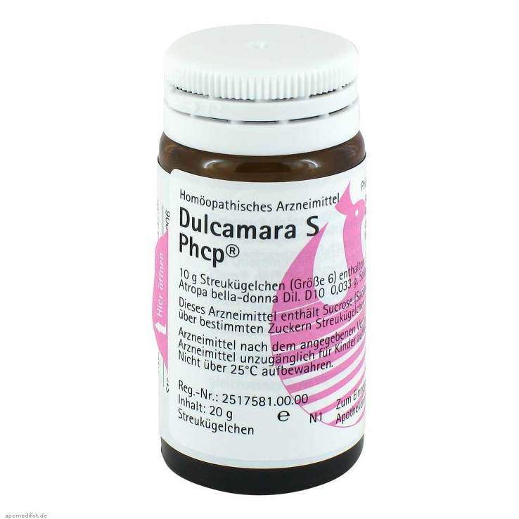 Dulcamara S Phcp Glob. 20 g